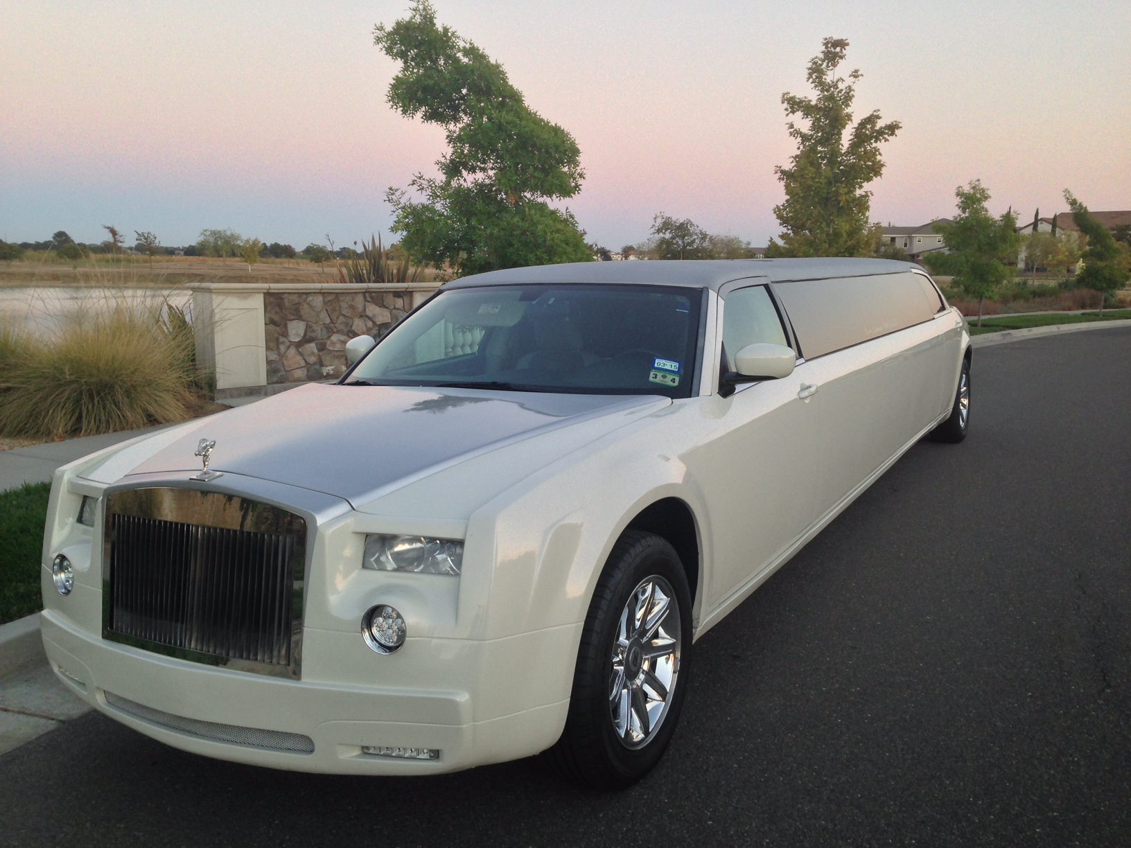 Wine Tours Napa in Rolls Royce