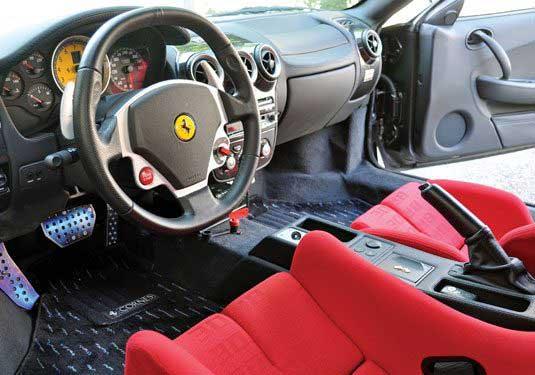 Ferrari F-430 for Napa- Sonoma