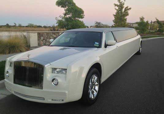 Rolls Style Limo for Napa-Sonoma