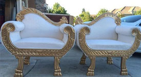 Exotic Bride/Groom Chair