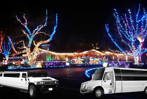 Christmas  Light Tour Service for Napa-Sonoma